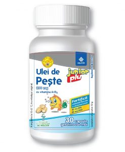 ulei de peste pentru copii cu vitamina A si D2
