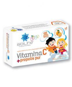 vitamina c cu propolis