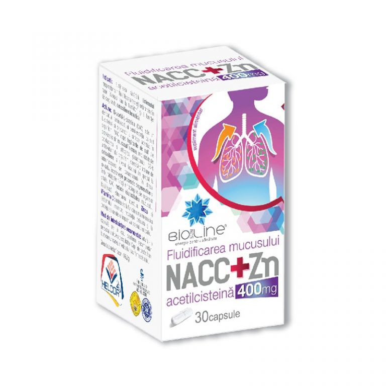 Acetilcisteina – NACC+Zn 400