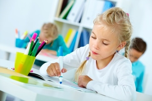 Drawing at lesson