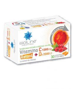 Vitamina C 1000 mg cu D3 2000