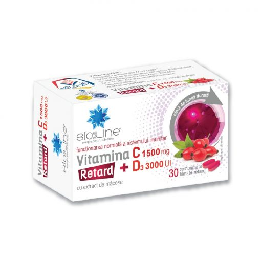 vitamina C 1500 mg cu D3