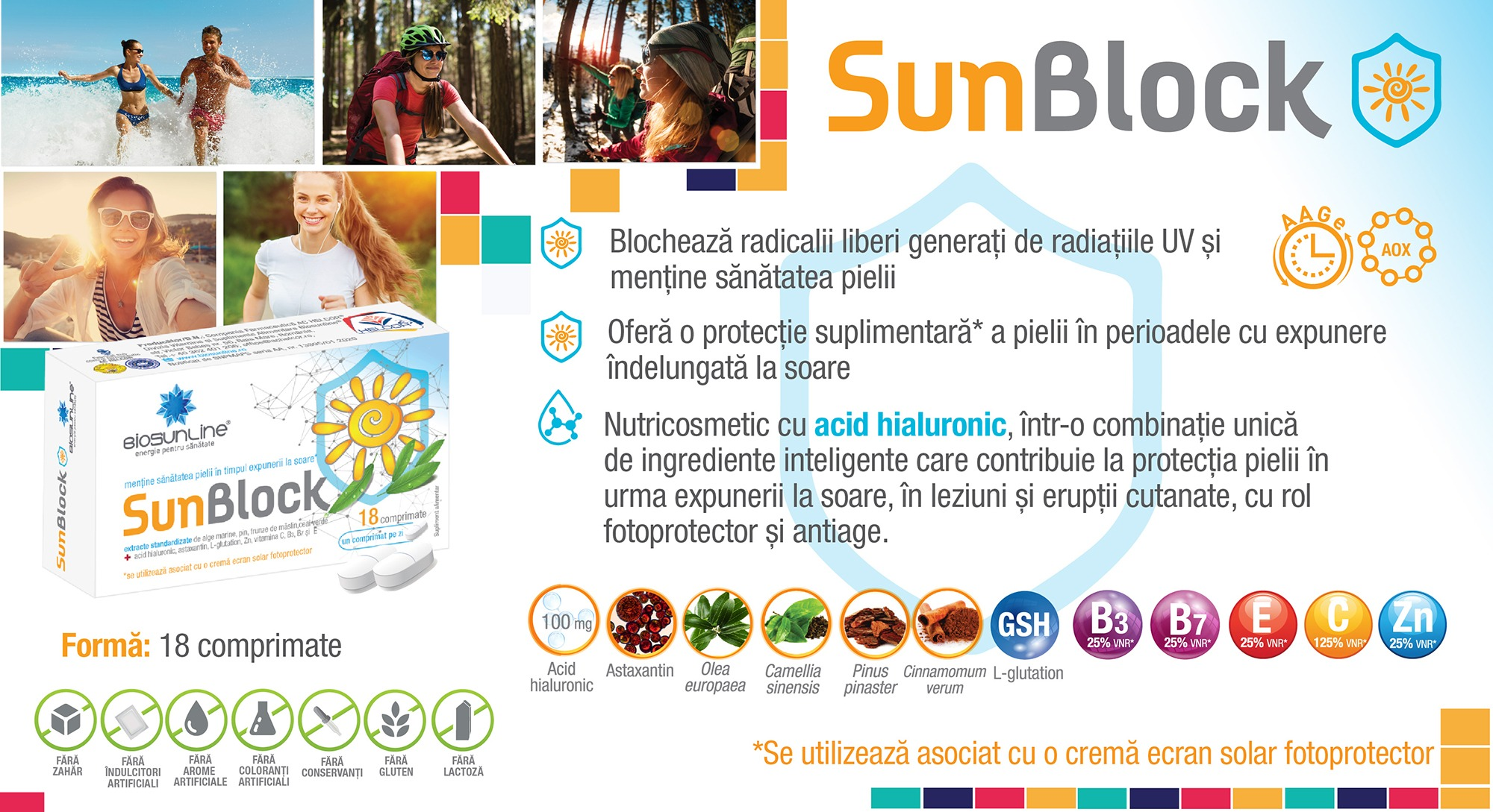 Sun Block protectie solara
